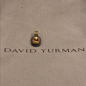 David Yurman citrin necklace enhancer
